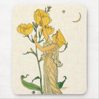 Evening Primrose by Walter Crane, 1889 Mousepads