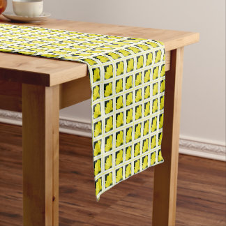 Evening Primrose Short Table Runner