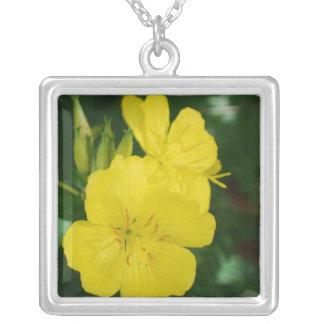 Evening Primrose Sterling Silver Necklace