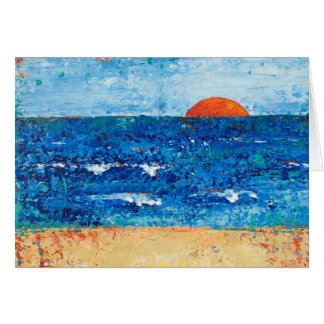 """Evening Promise"" (horizontal) Card"