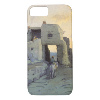 Evening, Pueblo of Walpi by Marion Kavagh Wachtel iPhone 7 Case