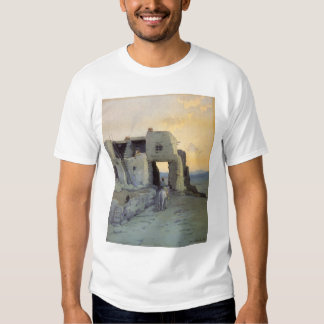 Evening, Pueblo of Walpi by Marion Kavagh Wachtel T Shirt