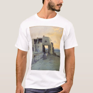 Evening, Pueblo of Walpi by Marion Kavagh Wachtel T-Shirt