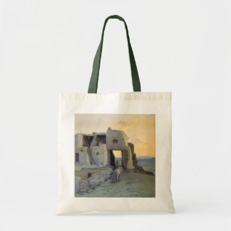 Evening, Pueblo of Walpi by Marion Kavagh Wachtel Tote Bag