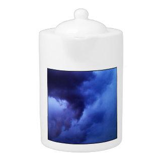 Evening Rain Clouds Teapot