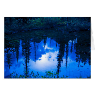 Evening Reflections Card