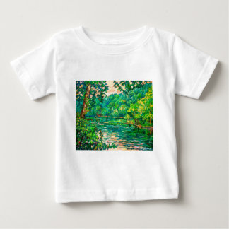 Evening River Motion Baby T-Shirt