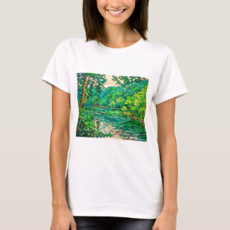 Evening River Motion T-Shirt