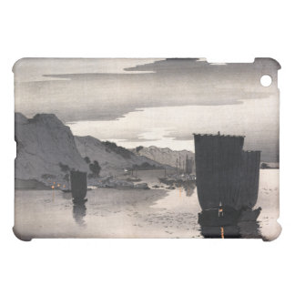 Evening sailboats, Ohara Koson Cover For The iPad Mini