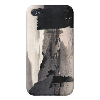 Evening sailboats Ohara Koson iPhone 4/4S Cover