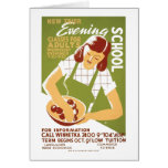 Evening School: Classes for Adults Card