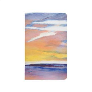 Evening seascape journal