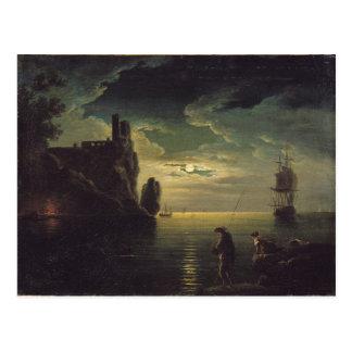 Evening Seascape Postcard