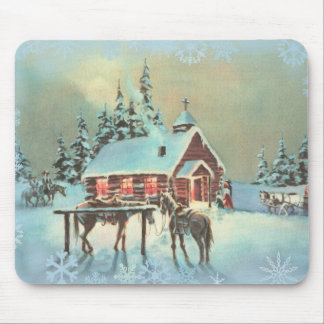 EVENING SERVICES by SHARON SHARPE Mouse Pad