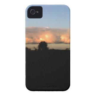 Evening Shelf Cloud iPhone 4 Cases