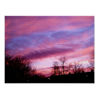 Evening Sky #2 Poster