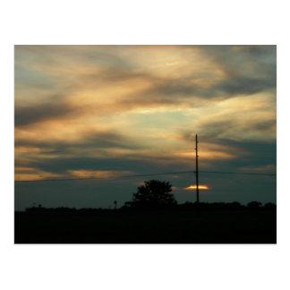 Evening Sky Postcard