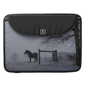 Evening Snow Squall MacBook Pro Sleeve