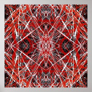 EVENING STAR (abstract art) ~.jpg Poster