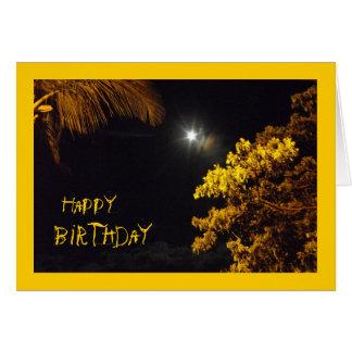 Evening Star In Lahaina, Hawaii, Birthday Card