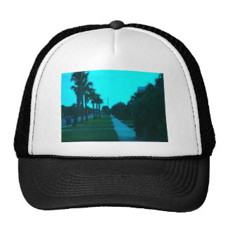 Evening Stroll at Isle of Palms Mesh Hats