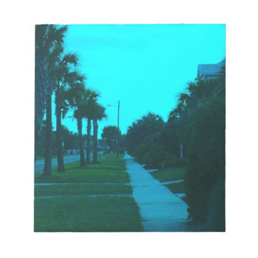 Evening Stroll at Isle of Palms Notepads