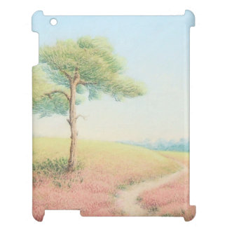 Evening Sun, New Forest Pine Trees iPad Case