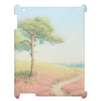 Evening Sun, New Forest Pine Trees iPad Case