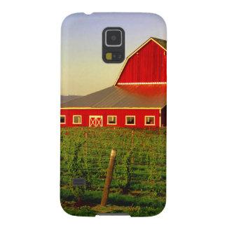 Evening sun on a barn in Washington's Skagit Case For Galaxy S5