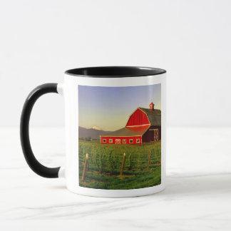Evening sun on a barn in Washington's Skagit Mug