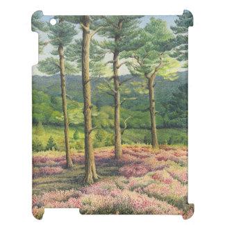 Evening Sun, Surrey Hills Pines Pastel iPad Case