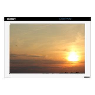"Evening Sunset Accessories / Merchandise 17"" Laptop Decal"