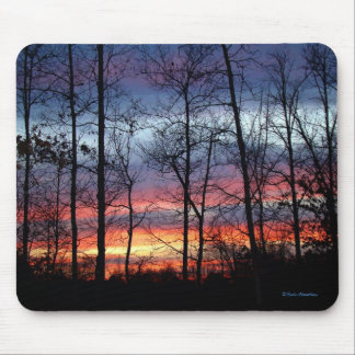 Evening Sunset Mouse Pad