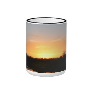 Evening Sunset Ringer Mug