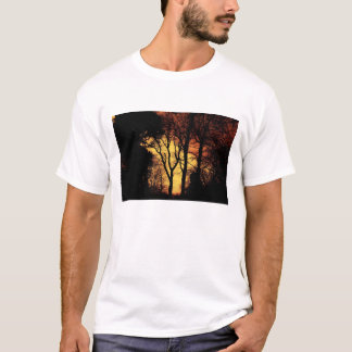 Evening Sunset Tree 2 T-Shirt