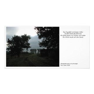 Evening tendency in Fischerhude Card