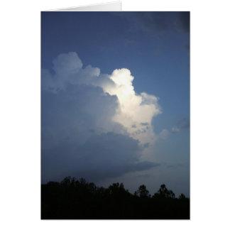Evening Thunderhead Card