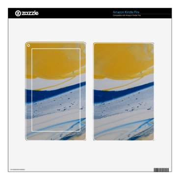 Beach Themed Evening tide decals for kindle fire