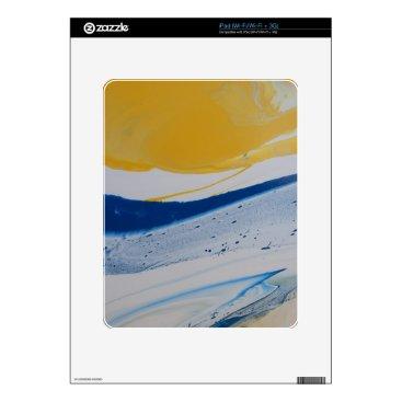 Beach Themed Evening tide iPad skins