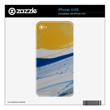 Beach Themed Evening tide iPhone 4 skins