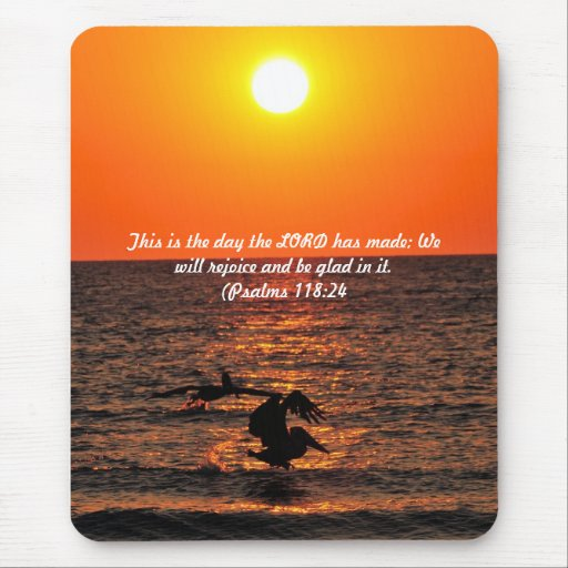Evening tide mouse pad