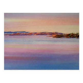 Evening Tide Postcard