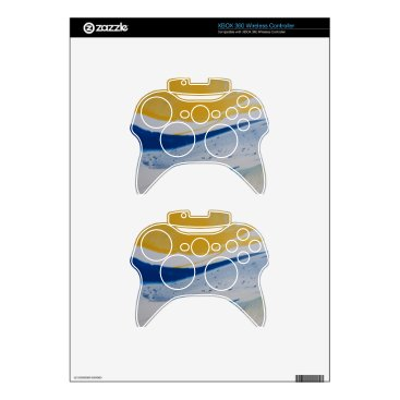 Beach Themed Evening tide xbox 360 controller decal