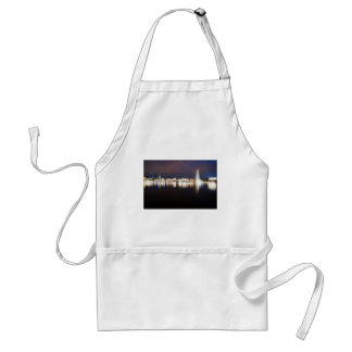 Evening to the Binnenalster Adult Apron