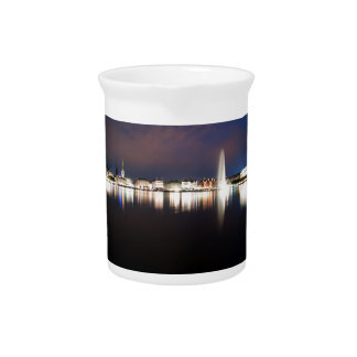 Evening to the Binnenalster Pitcher