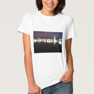 Evening to the Binnenalster T-shirts