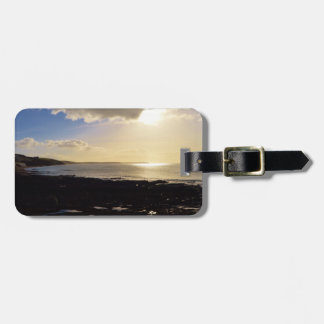 Evening View from Porthleven Cornwall England Bag Tag
