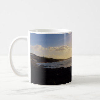 Evening View from Porthleven Cornwall England Classic White Coffee Mug