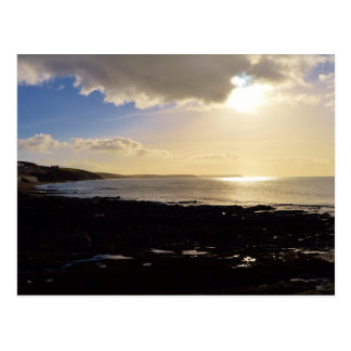 Evening View from Porthleven Cornwall England Post Cards