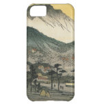 Evening view of a temple in the hills by Ando H. iPhone 5C Case